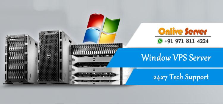 Window VPS Server Hosting
