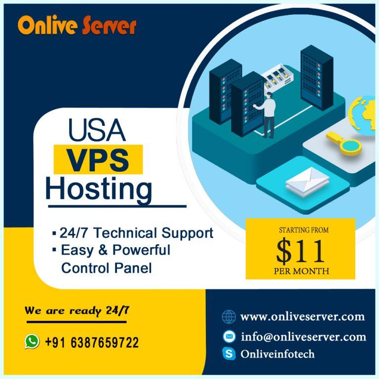 USA VPS Server Hosting Offer Higher Configuration Service