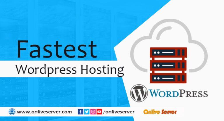 Get best WordPress Hosting by Onlive Server